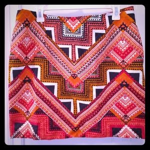 Merona Aztec Skirt